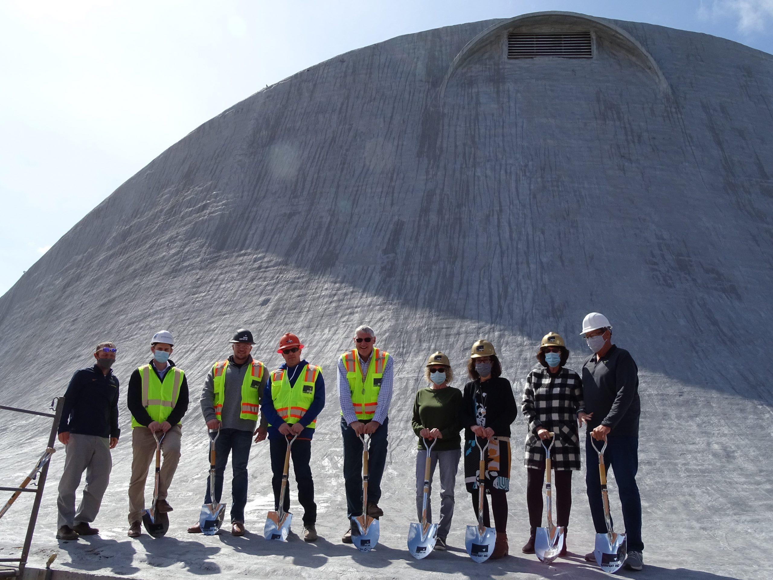 Roof Breaking Group Photo